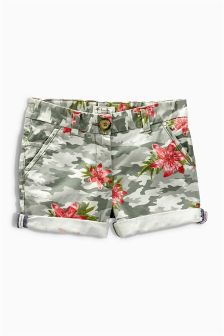 Camouflage Palm Shorts (3-16yrs)