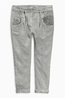 Grey Soft Trousers (3-16yrs)