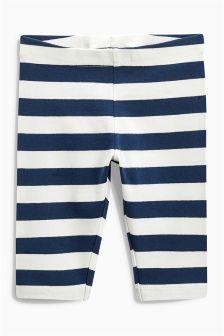 Navy/White Leggings (3mths-6yrs)