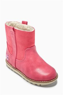Pull-On Cleated Boots (Younger Girls)