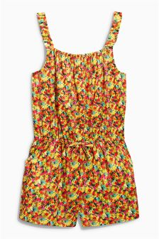 Ditsy Bright Playsuit (3-16yrs)