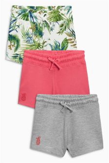 Tropical Shorts Three Pack (3-16yrs)