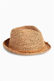 Neutral Trilby (Older Boys)