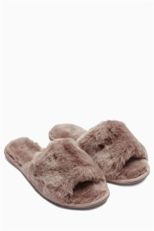 Nude Snug Slider Slippers