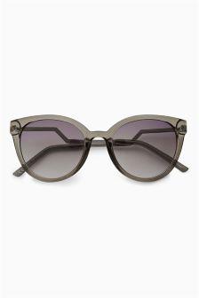 Grey Zig Zag Arm Festival Sunglasses