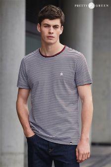 Pretty Green Stripe Feeder T-Shirt
