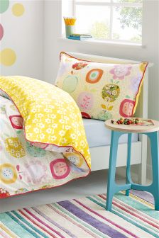 Apple Printed Bed Set