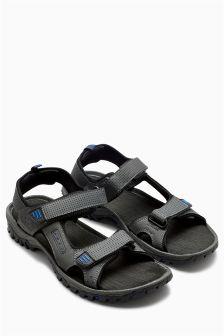 Grey Sports Sandal