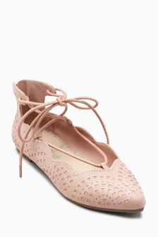 Ghillie Pointed Shoes (Older Girls)