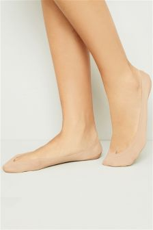 Nude Super Low Footlets
