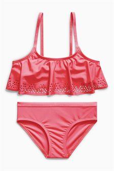 Laser Cut Pattern Bikini (3-16yrs)