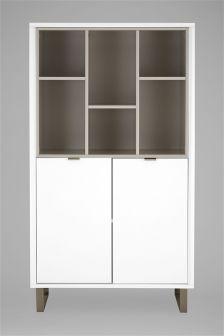 Logan White Cabinet