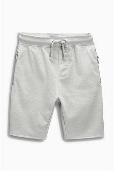 Zip Detail Shorts (3-16yrs)