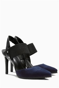 Cleated Sole Slingback Points