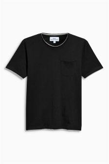 Layered Crew Neck T-Shirt