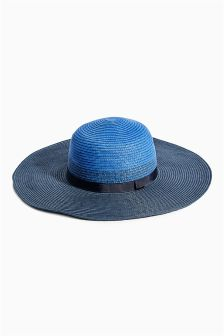 Blue Floppy Hat