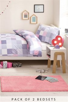 2 Pack Pixel Bed Set