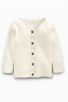 Rib Cardigan (3mths-6yrs)