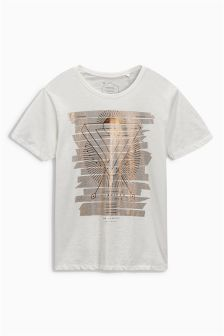 Ecru Graphic T-Shirt
