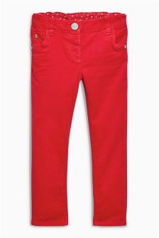 Red Cord Skinny Trousers (3mths-6yrs)
