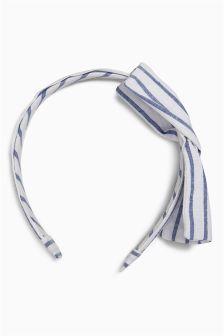 Navy/White Stripe Headband