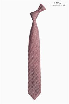 Italian Silk Textured Tie