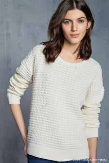 French Connection Popcorn Knit Jumper