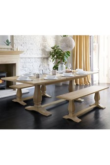 Hardwick Double 6-8 Seater Extending Dining Table