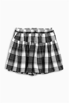 Black Check Skort (3-16yrs)