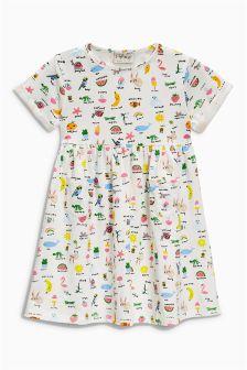Printed Pocket Dress (3mths-6yrs)