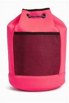 Fluro Pink Duffle Bag