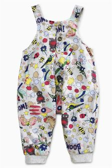 Multi All Over Print Playsuit (3mths-5yrs)