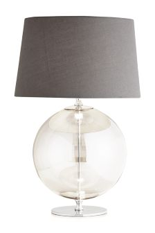 Large Glass Sphere Table Lamp