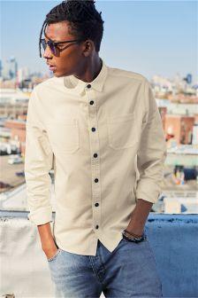 Long Sleeve Twin Pocket Shirt