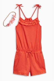 Playsuit With Headband (3-16yrs)