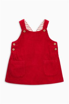 Red Cord Dress (0mths-2yrs)