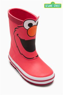 Red Elmo Wellies (Younger Boys)