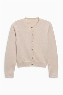 Champagne Sparkle Cardigan (3-16yrs)