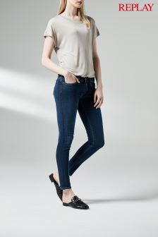 Replay® Rinse Joi Super Skinny Mid Rise Jean