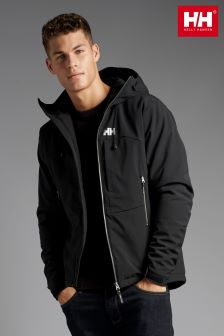 Black Helly Hansen Black Paramount Insulated Softshell Jacket