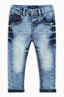 Aqua Stretch Towel Wash Jeans (3mths-6yrs)