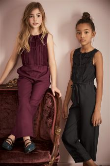 Lace Wide Leg Playsuit (3-16yrs)