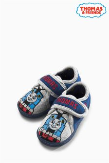 Grey Thomas Slippers (Younger Boys)