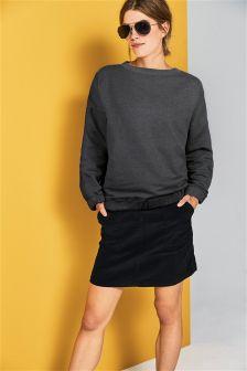 Jumbo Cord Skirt