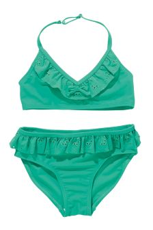 Broderie Frill Bikini (3-16yrs)