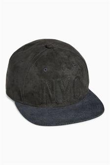 Black NYC Cap (Older Boys)