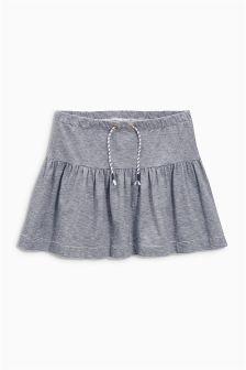 Navy/White Stripe Skirt (3-16yrs)