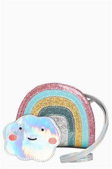 Multi Pastel Rainbow Bag
