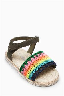 Crochet Sandals (Younger Girls)