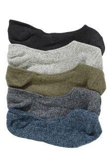 Multi Casual Socks Five Pack